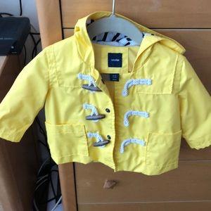 Baby Gap Yellow Raincoat